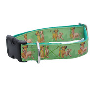 Lion King Green Ribbon Dog Collar **Simba**