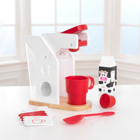KidKraft Red & White Coffee Set - 63381