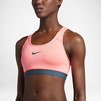 The Nike Pro Classic Padded Women's Medium Support Sports Bra.