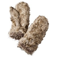 Mossimo Supply Co. Tan/Natural Fur Mitten