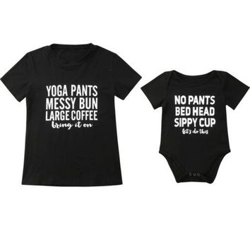 Mom & Baby Matching Tops