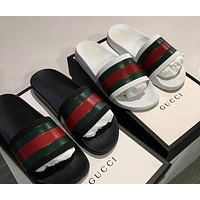 Gucci men and women trend stylish exquisite sandals slippers F