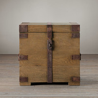 Heirloom Silver-Chest Chest Side Table