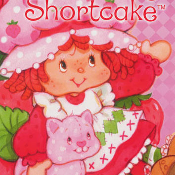 Strawberry Shortcake Cartoon Poster 24x36