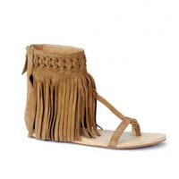 Koolaburra Athena Sandal in Chestnut