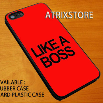 like a boss,Accessories,Case,Cell Phone,iPhone 5/5S/5C,iPhone 4/4S,Samsung Galaxy S3,Samsung Galaxy S4,Rubber,24-06-25-Xm