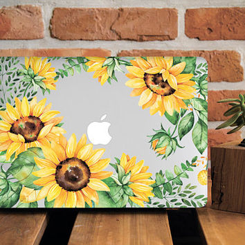 Sunflower Gaze MacBook Case MacBook Air 11 Cover Mac Case MacBook Air 11 Case MacBook Pro 13 Case Laptop Case New Macbook Pro 13 Cover Sun