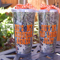 Mossy Oak Matching Camo 20oz. Acrylic Cups w/ Straw (Set)
