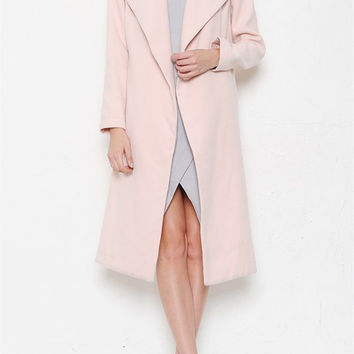 It's a Blogger World Coat - Blush RESTOCKED!