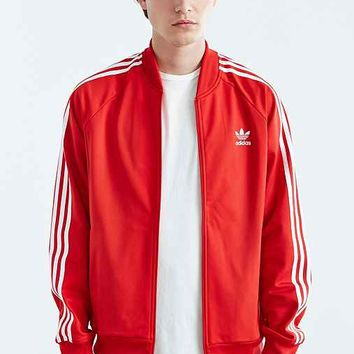 adidas Originals Superstar Track Jacket- Maroon