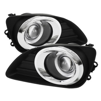 Toyota Camry 10-11 Halo Projector Fog Lights - Clear