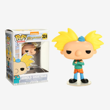 Funko Hey Arnold! Pop! Animation Arnold Shortman Vinyl Figure