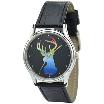 Reindeer Watch Head