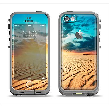 The Sunny Day Desert Apple iPhone 5c LifeProof Fre Case Skin Set