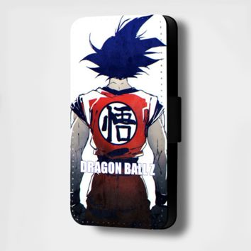 DRAGON BALL Z BACK FLIP PHONE CASE COVER WALLET (FITS ALL MODELS)