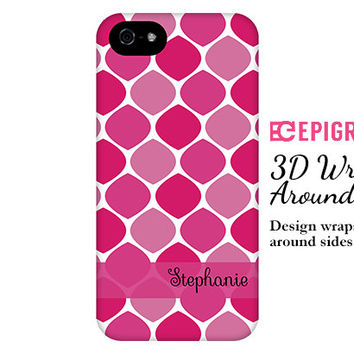 Personalized iPhone 6 case, magenta iPhone 6 plus case, honeycomb iPhone 5c case, iPhone 4s phone cases, Phone 5s case, Galaxy S6 case
