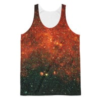 Tripping in the Deep Field [Rasta] || Unisex Classic Fit Tank Top - Live In Love
