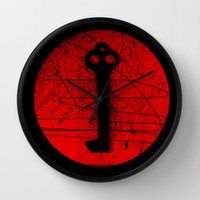 Key Wall Clock by Superlust