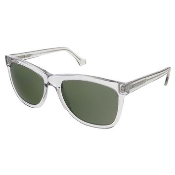 Balenciaga Translucent Grey Rectangular sunglasses