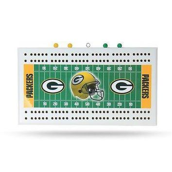 Green Bay Packers NFL Cribbage Board
