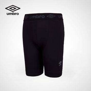 Umbro New Men Comprehensive Training Tight Fitting Sports Shorts pants Shorts Homme Outwear Shorts UI173AP3905