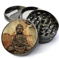 Buddha Pattina Extra Large 5 Piece Spice & Herb Grinder