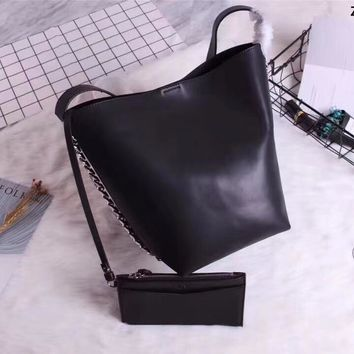 Givenchy Pandora Box Leather Shoulder Bag