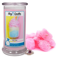 Cotton Candy Ring Candle