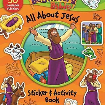 The Beginner's Bible All About Jesus Sticker & Activity Book ACT CSM ST