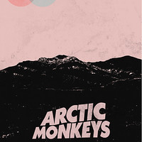 Arctic Monkeys AM Desert Poster