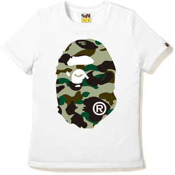 1ST CAMO BIG APE HEAD TEE /AP