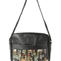 Marvel Comics Logo Messenger Bag