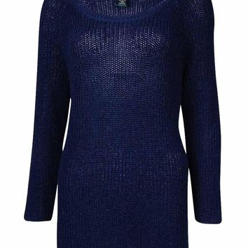 Lauren Ralph Lauren Women's Tape-Yarn Knit Sweater