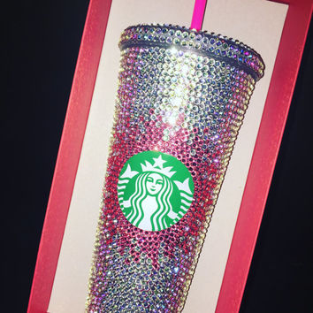 Blinged Venti Starbucks Tumbler