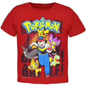 Pokemon - Group Charging Juvy T-Shirt