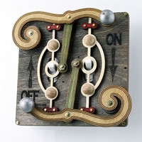 Fulcrum Light Switch Plate by GreenTreeJewelry on Etsy