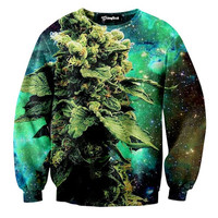 Weed of the Galaxy Crewneck