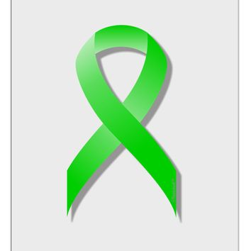 Lyme Disease Awareness Ribbon - Lime Green Aluminum Dry Erase Board