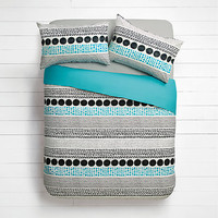 House by John Lewis Mix Spot Duvet Cover and Pillowcase Set
