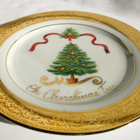 Christmas Tree Plate Muirfield Magnificence