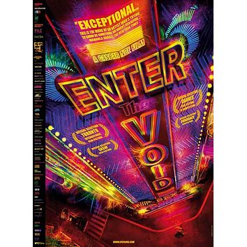 Enter the Void 27x40 Movie Poster (2009)