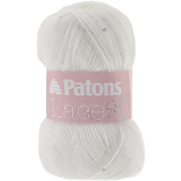 Lace Sequin Yarn-Crystal
