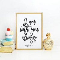 Wall Art Quotes Quotes poster poster quote quote print quote art inspirational quote Typography Quote Bible Verse Print Home decor