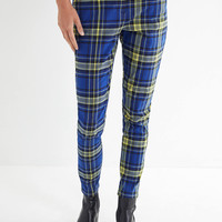UO Cece Plaid Mom Pant | Urban Outfitters