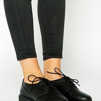 ASOS MIRA Creeper Lace Up Shoes