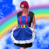 Rainbow Brite Apron Cosplay Costume