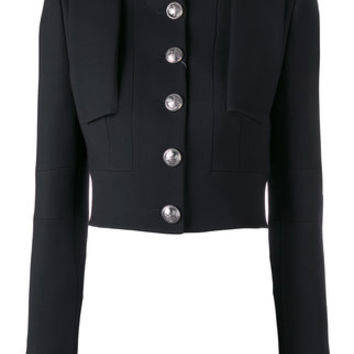 Alexander McQueen Cropped Military Jacket - Farfetch