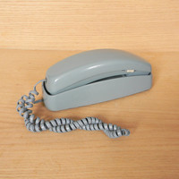 Baby Blue Slim Line Phone from the 80s - 90s