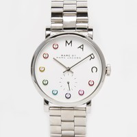 Marc By Marc Jacobs Silver Baxter Dexter MBM3420 Watch