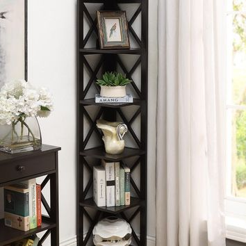 Gracelynn Corner Unit Bookcase